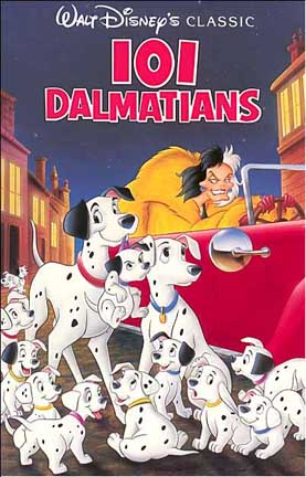 101 Dalmatians Cartoon Image